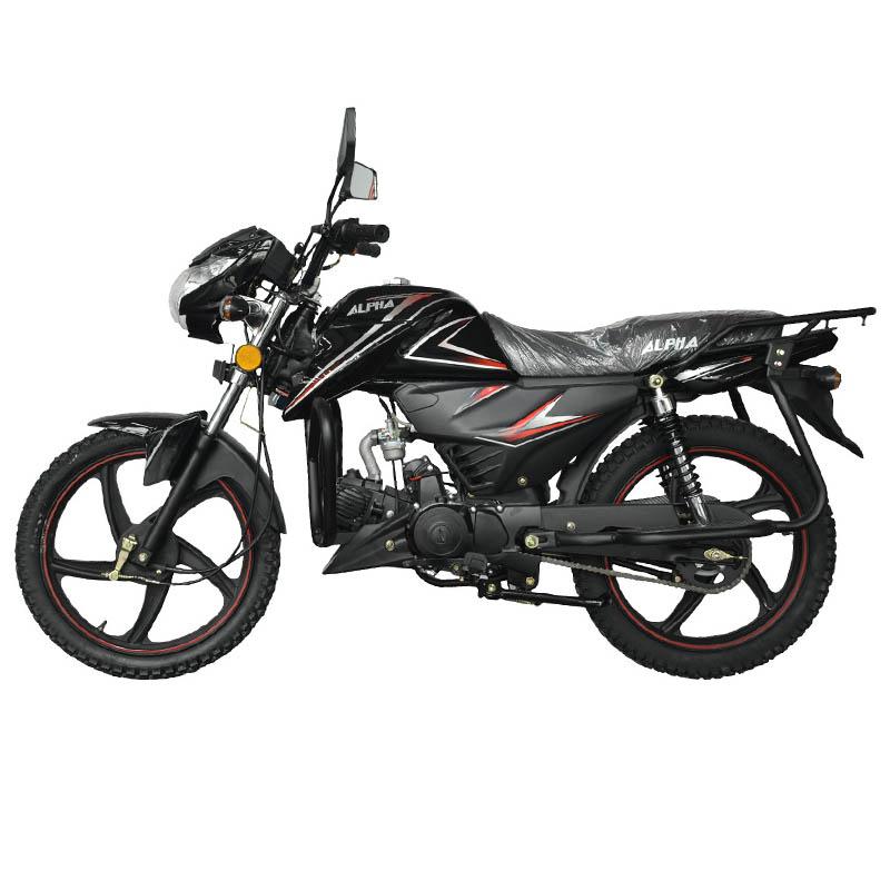 Мопед Alpha Moto CM125-2 чёрного цвета купить по низкой цене