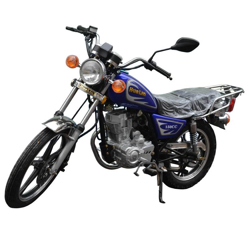 Чопер HuaLin 150CC синий мотоцикл купить по низкой цене