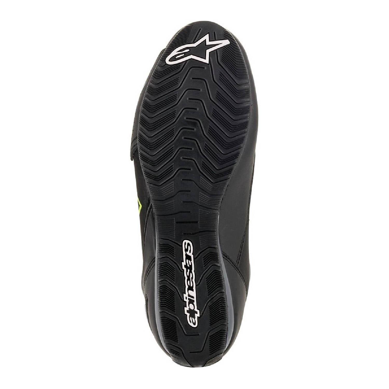 Мотоциклетные ботинки ALPINESTARS FASTER-3 DRYSTAR вид со стороны подошвы купить по низкой цене