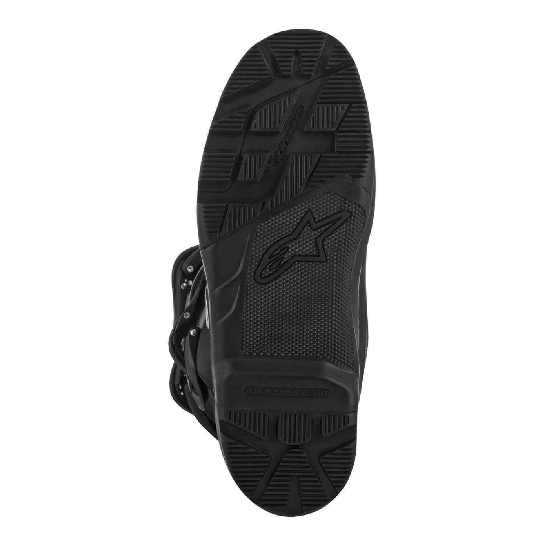 ALPINESTARS TECH 3 спортивные сапоги для мотокросса, вид со стороны подошвы купить по низкой цене