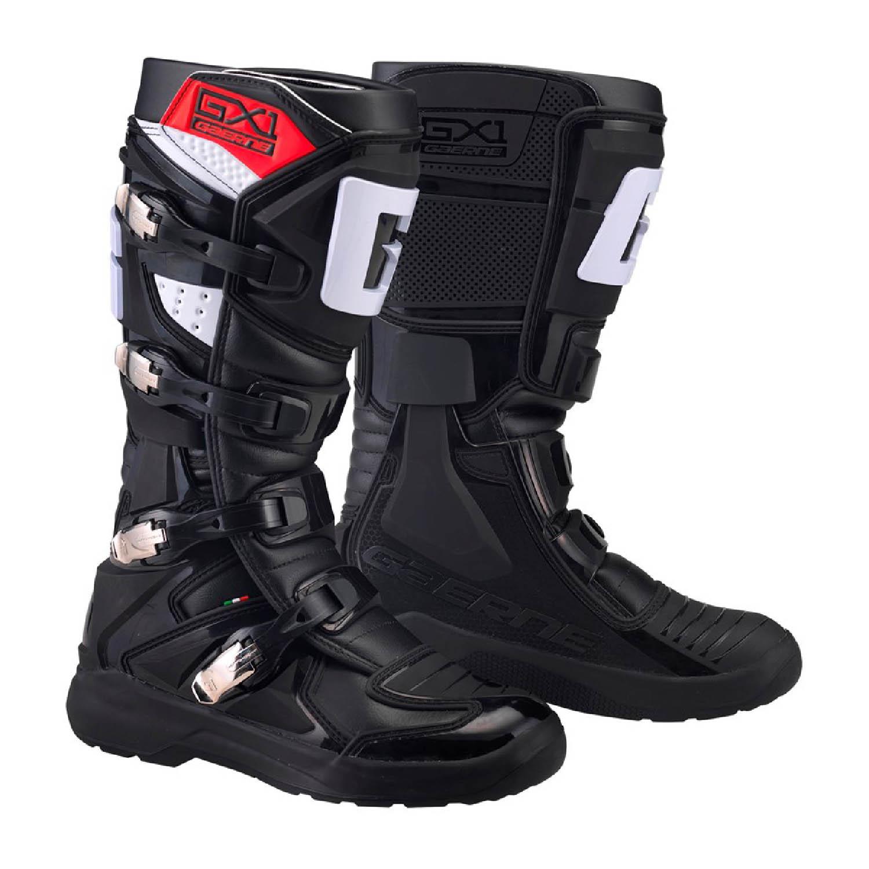 GAERNE GX-1 EVO спортивные цвет чёрный сапоги для мотокросса купить по низкой цене