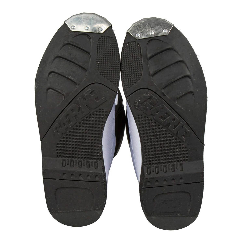 GAERNE GX-1 белого цвета спортивные сапоги для мотокросса, вид подошвы купить по низкой цене