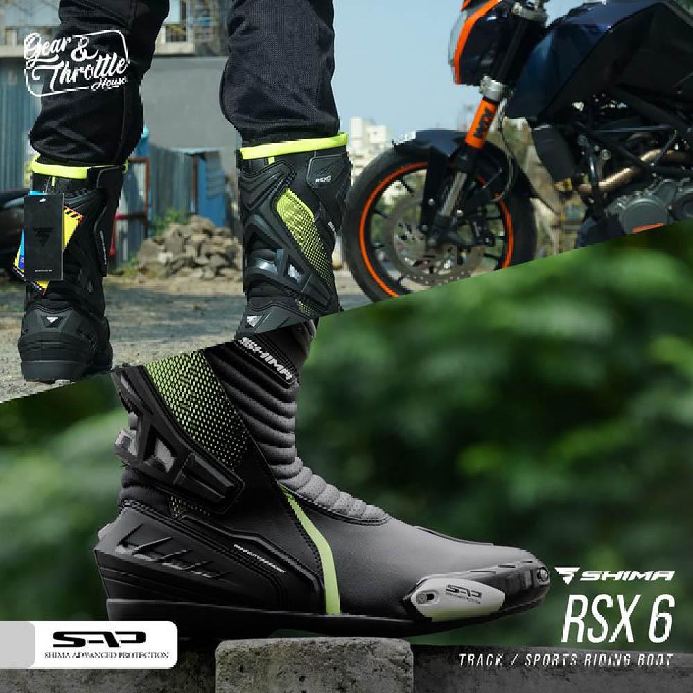 Мотоциклетные сапоги SHIMA RSX-6 баннер купить по низкой цене