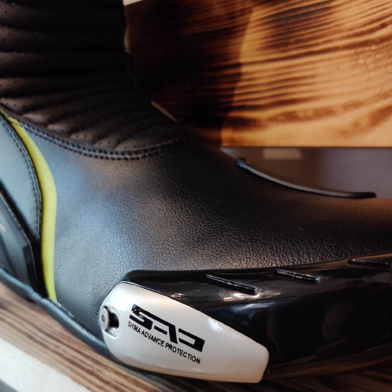 Мотоциклетные сапоги SHIMA RSX-6 вид слайдер купить по низкой цене