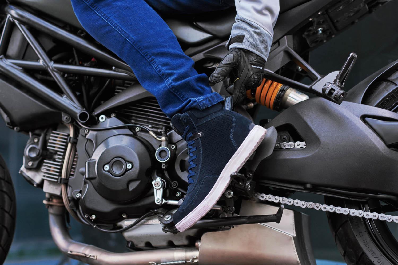 SHIMA SX-2 EVO мотоциклетные кроссовки, вид на подножке купить по низкой цене