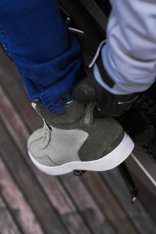 SHIMA SX-2 EVO мотоциклетные кроссовки, вид пятки купить по низкой цене