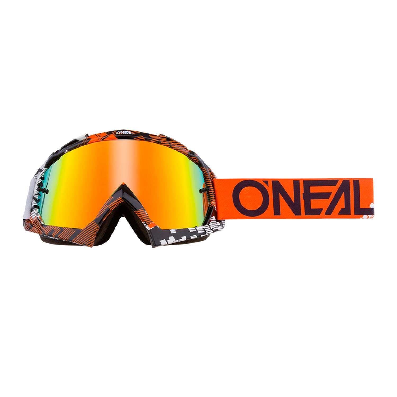 Мотоциклетные очки O'NEAL B-10 GOGGLE PIXEL для кросса, линзы радиевые купить по низкой цене