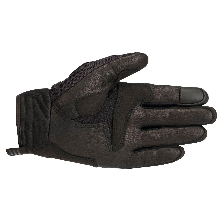 ALPINESTARS ATOM мотоциклетные перчатки из кожи и текстиля, вид ладони купить по низкой цене