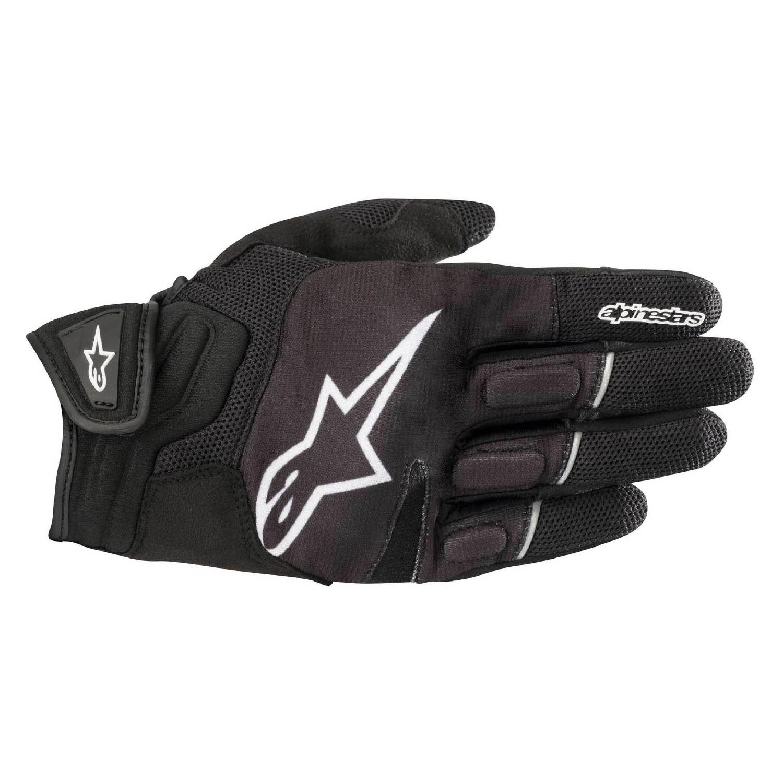 ALPINESTARS ATOM мотоциклетные перчатки из кожи и текстиля купить по низкой цене
