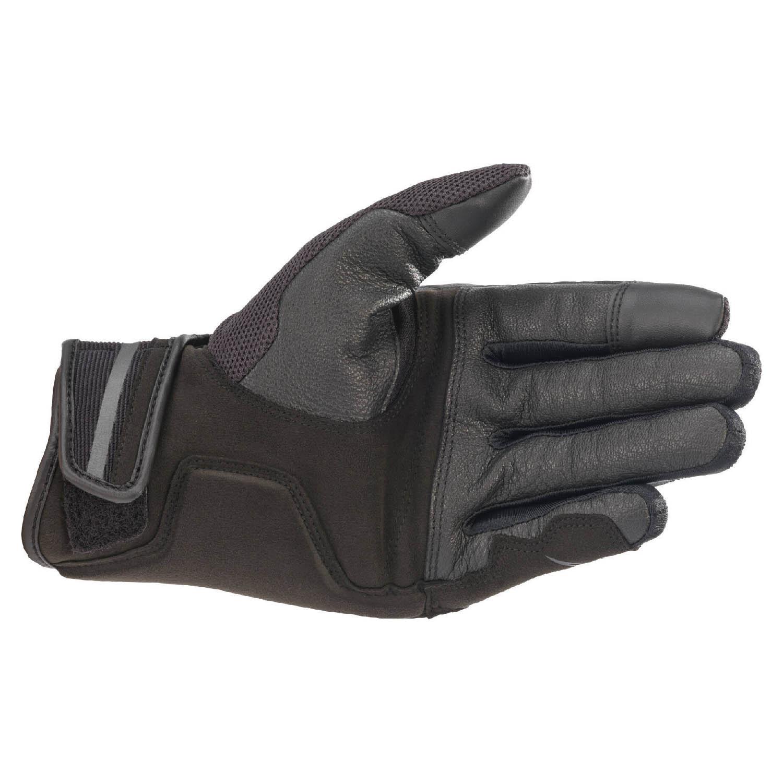 ALPINESTARS CHROME мотоциклетные перчатки из кожи и текстиля, вид ладони купить по низкой цене
