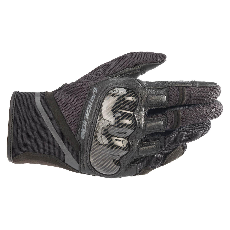 ALPINESTARS CHROME мотоциклетные перчатки из кожи и текстиля купить по низкой цене
