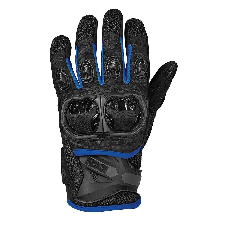 TOUR LT MONTEVIDEO AIR S мотоциклетные перчатки цвет черно-синий купить по низкой цене