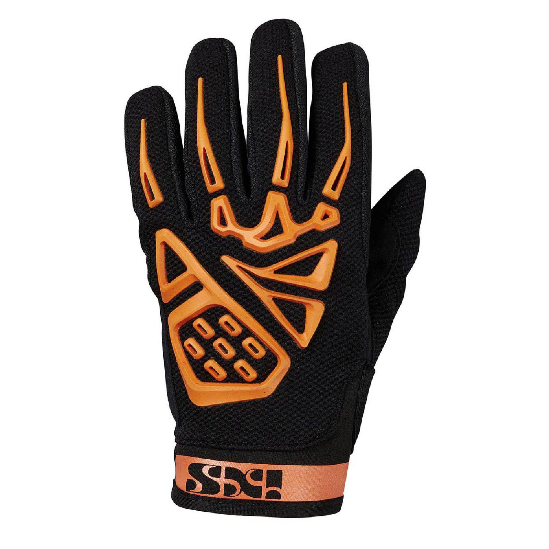 IXS TOUR PANDORA AIR мотоциклетные перчатки из текстиля цвет черно-оранжевый купить по низкой цене