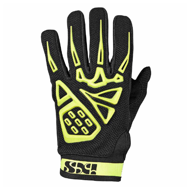 IXS TOUR PANDORA AIR мотоциклетные перчатки из текстиля цвет черно-желтый купить по низкой цене