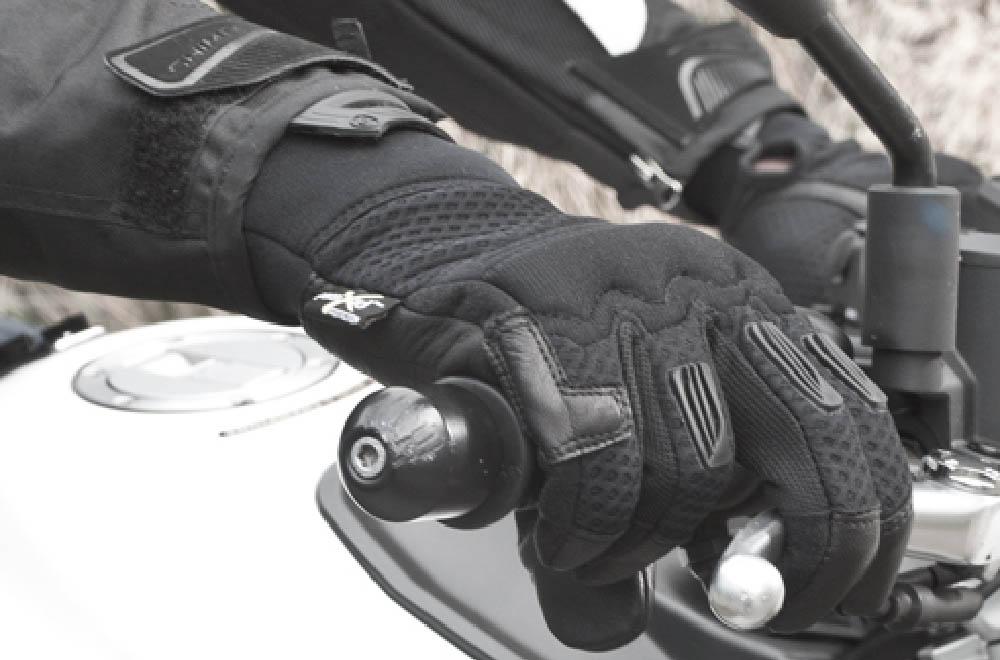 SHIMA AIR мотоциклетные перчатки из кожи и текстиля, вид на ручке газа купить по низкой цене