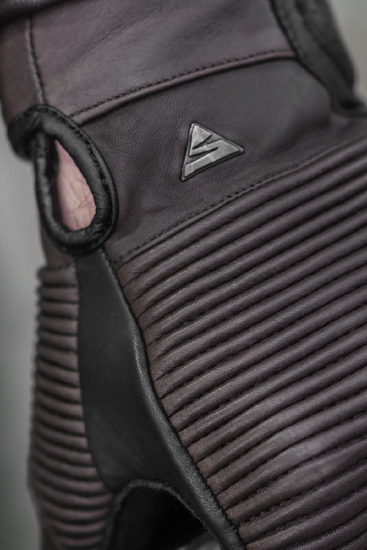 SHIMA BLAKE мотоциклетные перчатки из кожи, вид вставка-гармошка купить по низкой цене