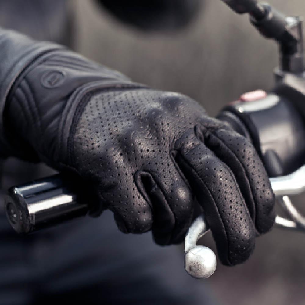 SHIMA BULLET мотоциклетные перчатки из кожи, вид на ручке тормоза купить по низкой цене