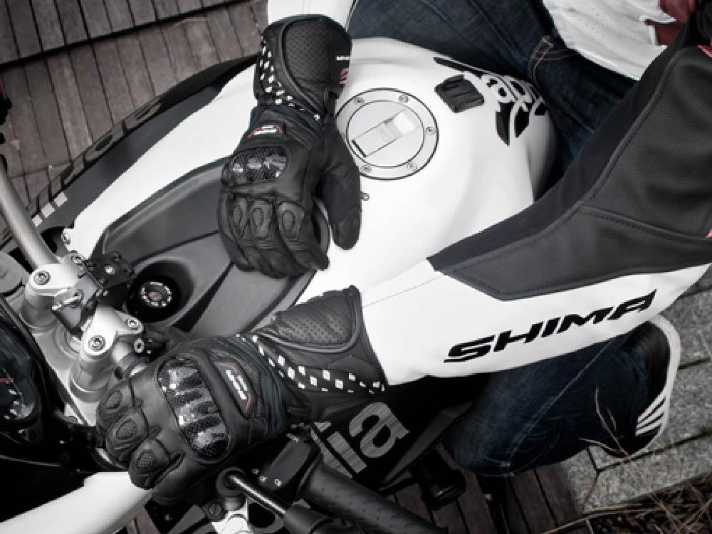 SHIMA PROSPEED мотоциклетные перчатки из кожи для туристов, вид руль купить по низкой цене