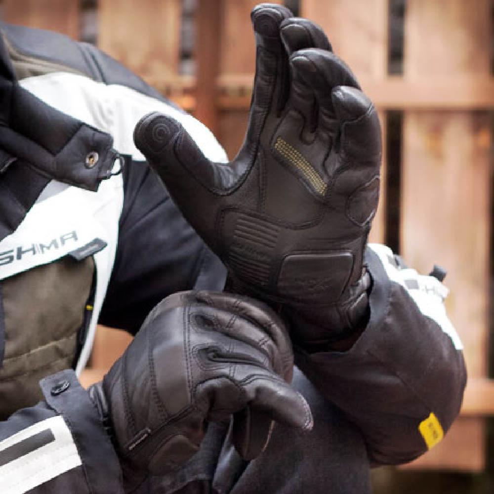 SHIMA REVOLVER мотоциклетные перчатки из кожи, вид протектор запястья купить по низкой цене