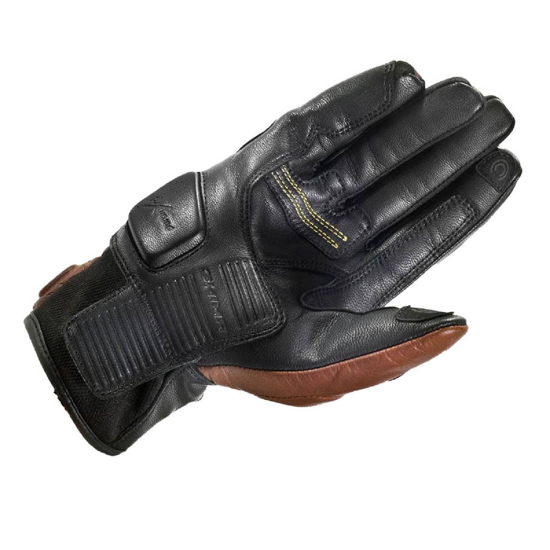 SHIMA REVOLVER мотоциклетные перчатки из кожи, вид ладони купить по низкой цене