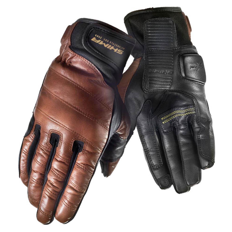 SHIMA REVOLVER мотоциклетные перчатки из кожи, вид пара купить по низкой цене