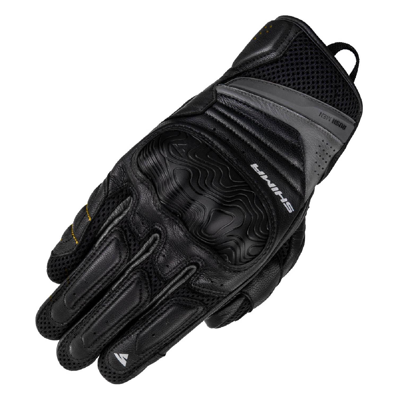 SHIMA RUSH мотоциклетные перчатки из кожи купить по низкой цене