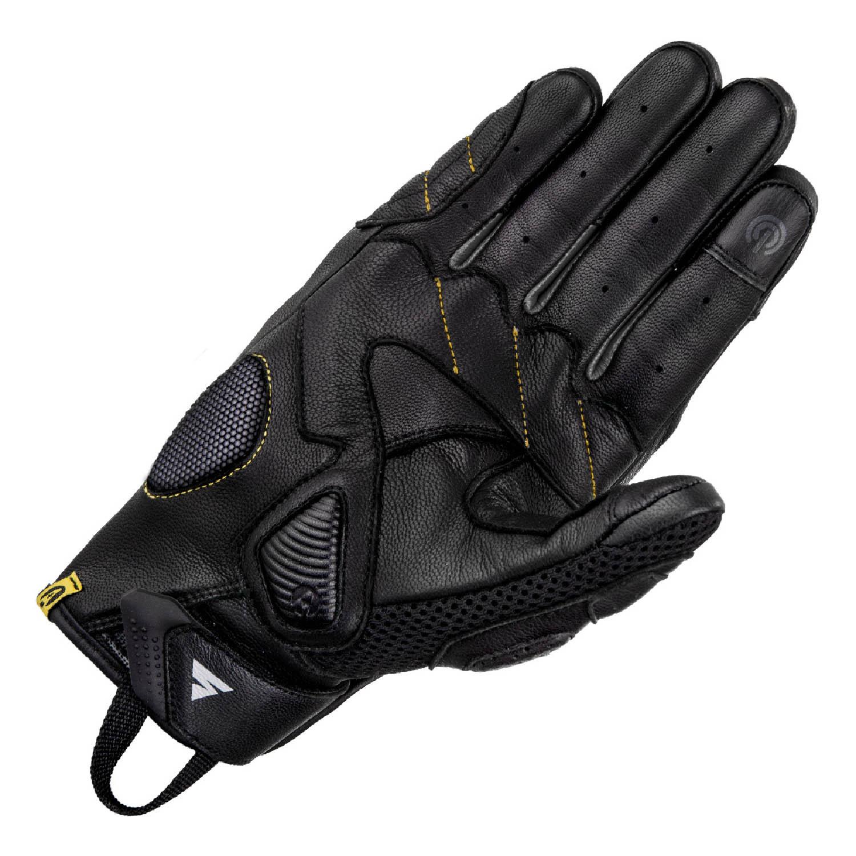 SHIMA RUSH мотоциклетные перчатки из кожи, вид ладони купить по низкой цене