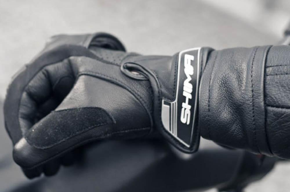SHIMA SPARK мотоциклетные перчатки из кожи, вид манжета купить по низкой цене