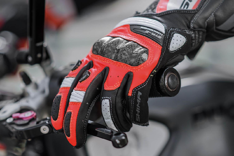 SHIMA STR-2 мотоциклетные перчатки из кожи, вид сцепление купить по низкой цене