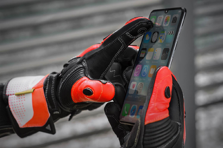 SHIMA STR-2 мотоциклетные перчатки из кожи, вид указательный палец купить по низкой цене