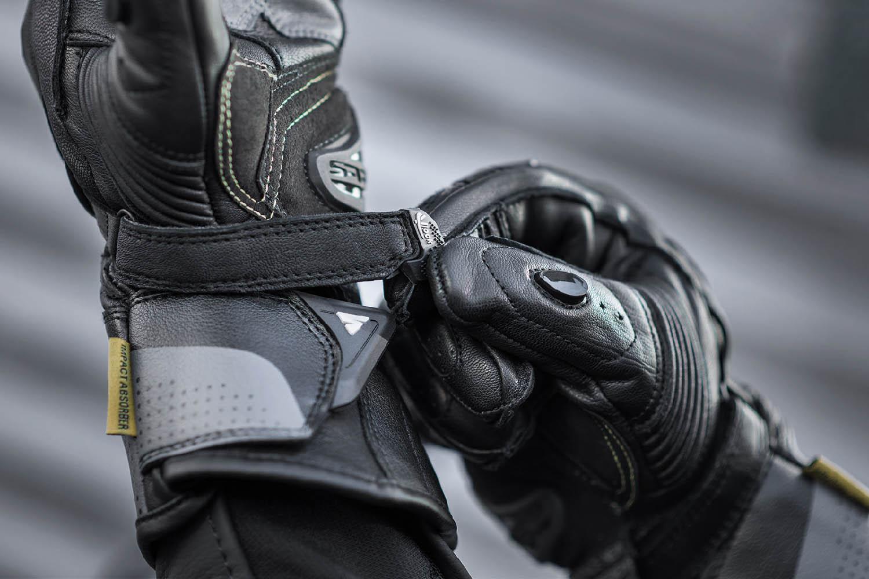 SHIMA STR-2 мотоциклетные перчатки из кожи, вид запястье купить по низкой цене