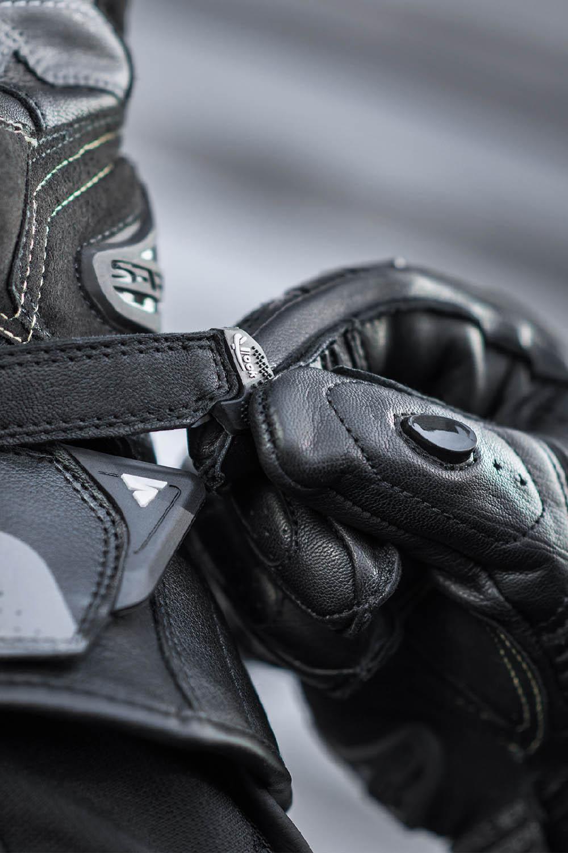 SHIMA STR-2 мотоциклетные перчатки из кожи, вид застёжка купить по низкой цене