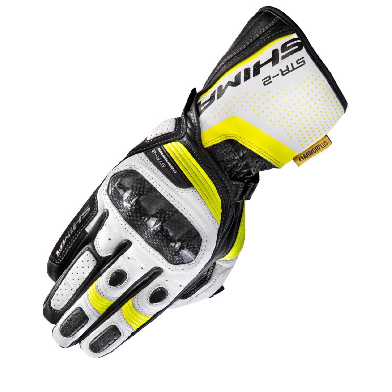 SHIMA STR-2 мотоциклетные перчатки из кожи купить по низкой цене
