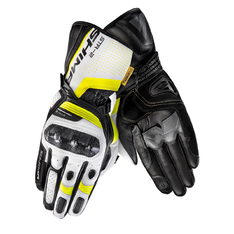 SHIMA STR-2 мотоциклетные перчатки из кожи, вид пара купить по низкой цене