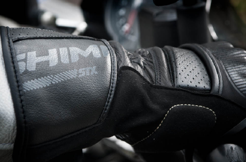 SHIMA STX мотоциклетные перчатки из кожи, вид манжета купить по низкой цене