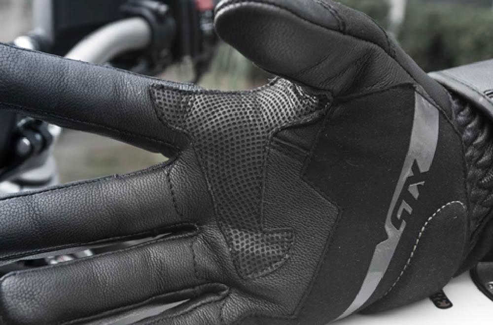SHIMA STX мотоциклетные перчатки из кожи, вид накладка ладони купить по низкой цене