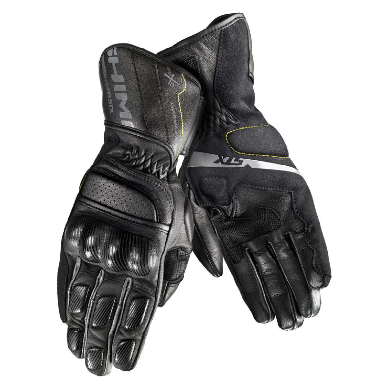 SHIMA STX мотоциклетные перчатки из кожи, вид пара купить по низкой цене