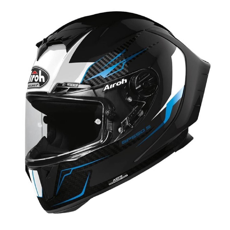 Шлем интегральный AIROH GP550 S VENOM черного цвета купить по низкой цене