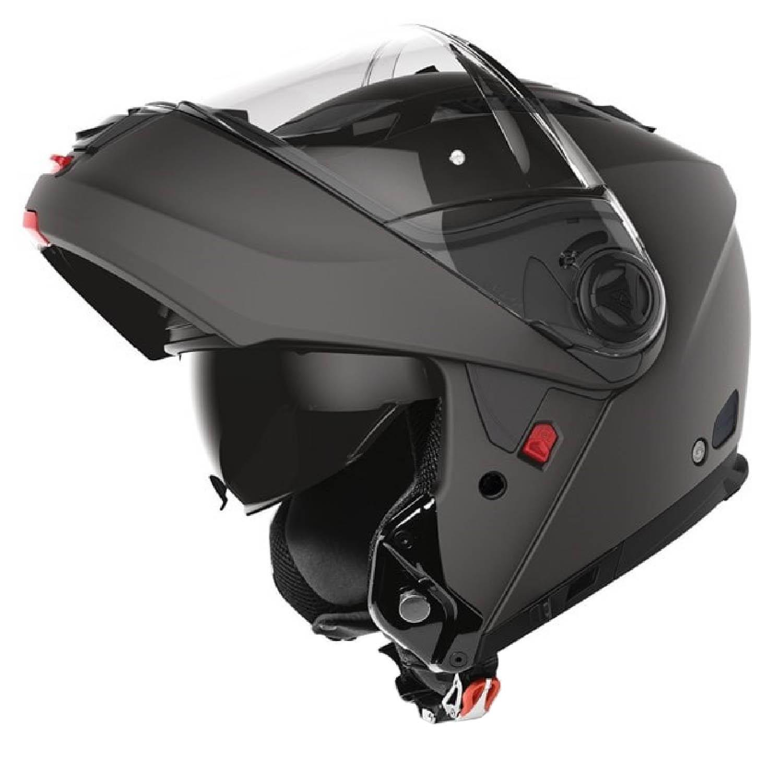 Шлем модулярный AIROH PHANTOM-S черного матового цвета купить по низкой цене