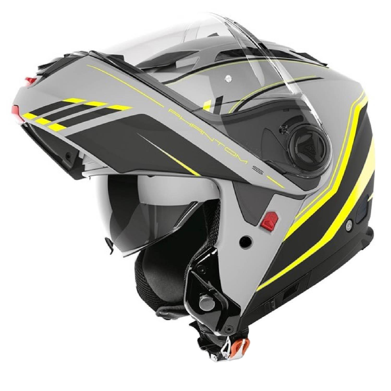 Шлем модулярный AIROH PHANTOM-S BEAT желтого матового цвета купить по низкой цене