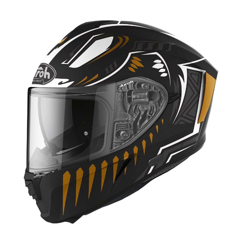 Шлем интегральный AIROH SPARK VIBE черного матового цвета купить по низкой цене