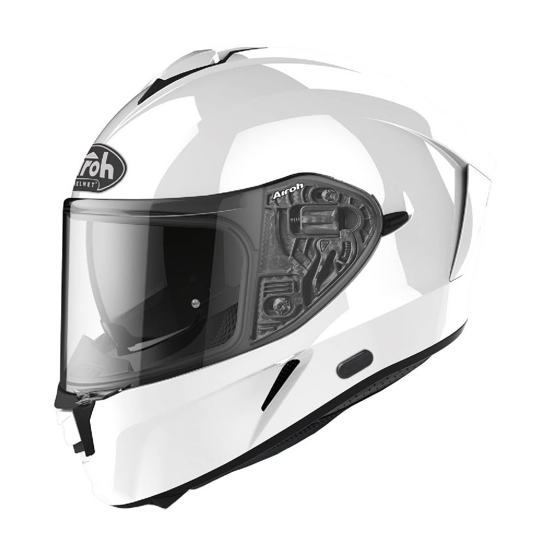 Шлем интегральный AIROH SPARK белого глянцевого цвета купить по низкой цене