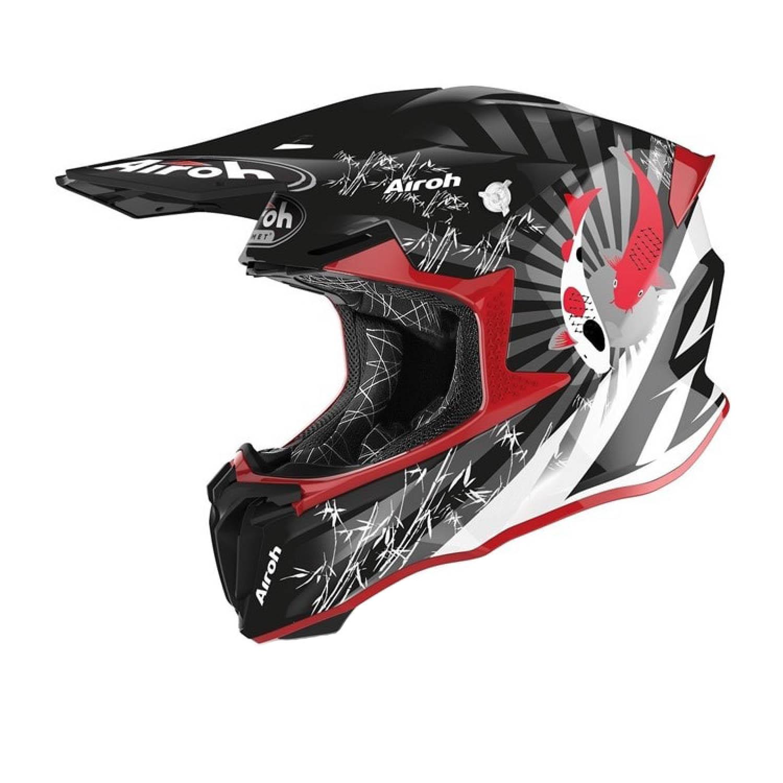 Шлем кроссовый AIROH TWIST 2.0 KATANA купить по низкой цене