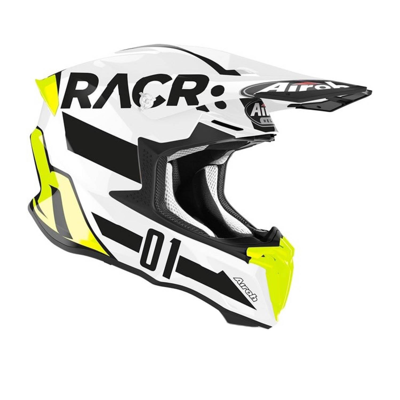 Шлем кроссовый AIROH TWIST 2.0 RACR вид справа купить по низкой цене