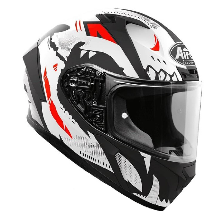 Шлем интегральный AIROH VALOR NEXY матового цвета, вид справа купить по низкой цене