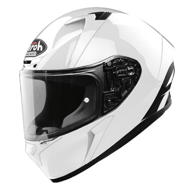 Шлем интегральный AIROH VALOR белого глянцевого цвета купить по низкой цене