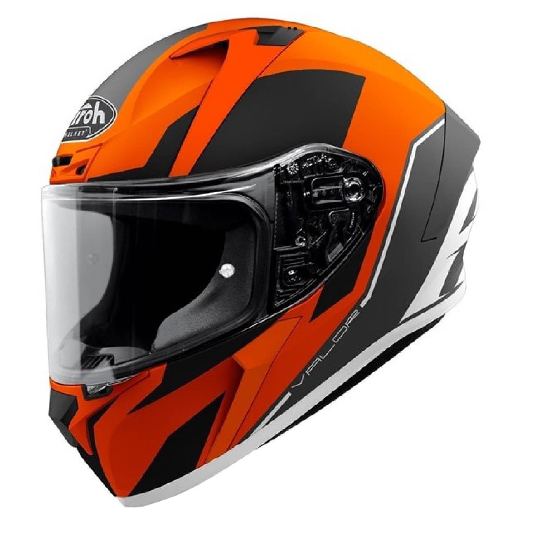 Шлем интегральный AIROH VALOR WINGS оранжевого матового цвета купить по низкой цене