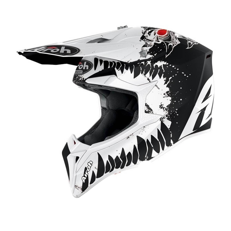 Шлем кроссовый AIROH WRAAP BEAST купить по низкой цене