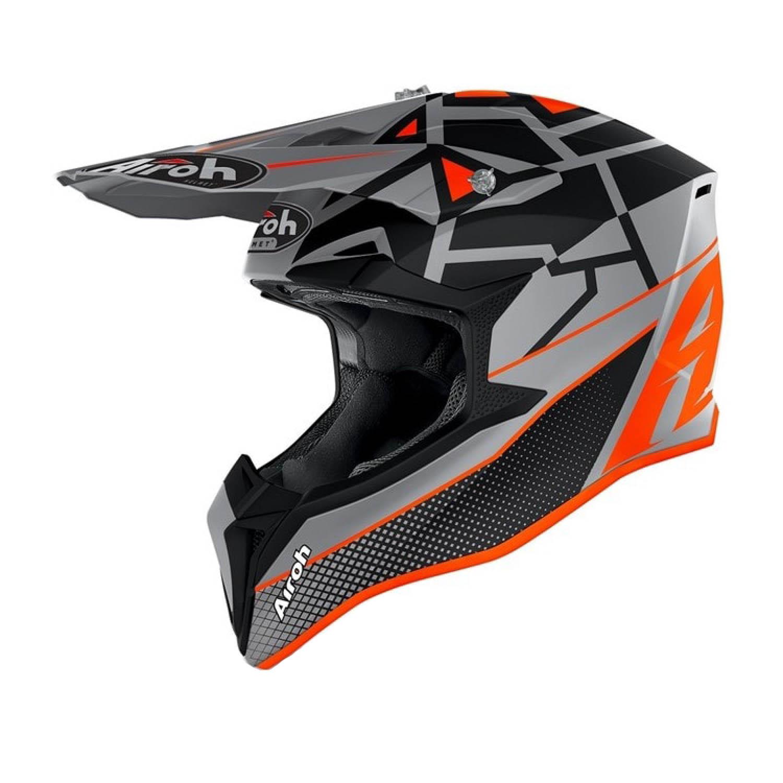 Шлем кроссовый AIROH WRAAP MOOD купить по низкой цене