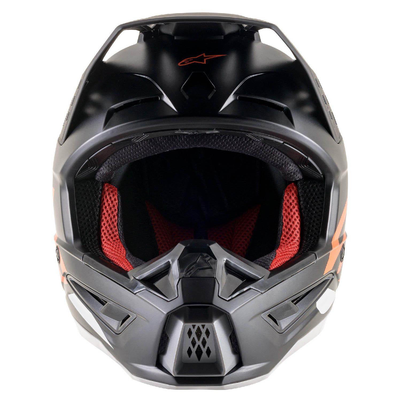 Шлем кроссовый ALPINESTARS SM5 COMPASS вид спереди купить по низкой цене